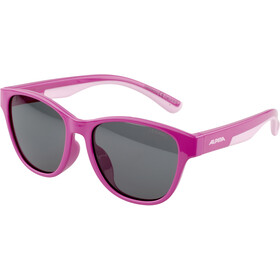 Alpina Flexxy Cool Kids II Glasses Kids, Pink/Rose/black mirror
